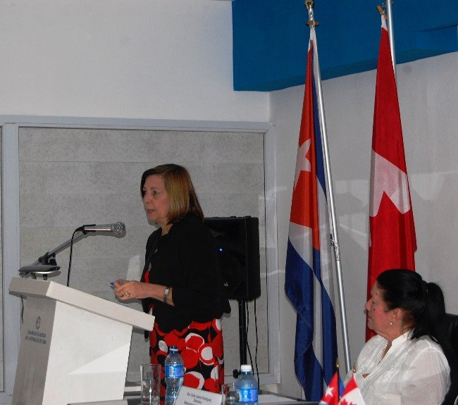 Conf rence sur le march cubain avec mme josefina vidal for Chambre commerce canada